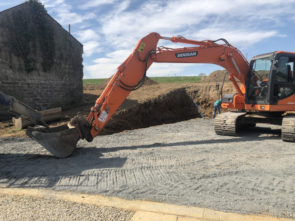 Image showing a digger